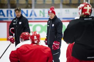 Fredrik Andersson, tränare i Timrå IK.