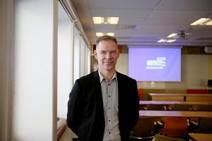 Niclas Lindh representerade Gavlegårdarna under dagens trygghetsseminarium.