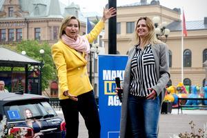 Ebba Busch Thor tror att Liza-Maria Norlin har en god chans att ta sig in i EU-valet.