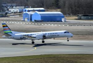 BRA vill börja trafikera sträckan Örnsköldsvik-Bromma i februari.