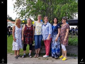 Sussane Perssson, Marita Gagnehed, Maria Jönsegård, Marie Clahr, Annika Ljung och Anne-Charlotte Turesson. Läsarbild: Carina Nordqvist.