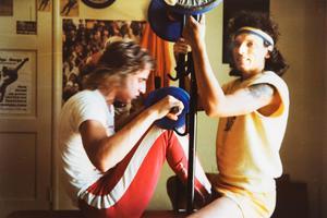 Håkan Sannemo och Jorma Kaukonen tränar tillsammans.Foto: Privat