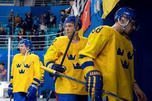 Bergström spelade för Tre Kronor i OS 2018. Photo: Joel Marklund / BILDBYRÅN.