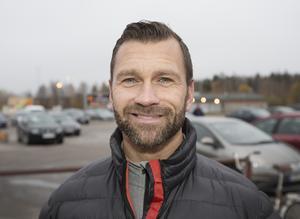 Tom Landström, 45 år, byggarbetare, Gävle: