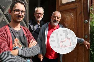 Musikanter gör allt för att rädda Jazzhuset och Eskilsgården. Bilden är ett montage. Foto: Sandvikens kommun.