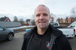 Nu får vi möjlighet att ta emot husbilar, husvagnar, lätta lastbilar och båtar och kan erbjuda drop in för kunder som vill ha bilen tvättad snabbt, berättar Andreas Lundgren.
