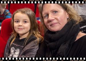Förskolepedagogen Camilla Ölund och Mimmi Viltlycke, 5 år från Sundsvall.