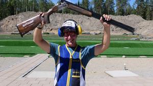 Andreas Norlén är svensk mästare i olympisk trap. Bild: Svenska Skyttesportförbundet