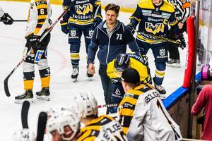 Markus Ljungh efter situationen där Fredrik Lindgren fick matchstraff.