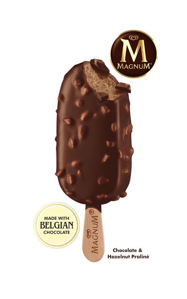 Foto: GB GlaceMagnum Chocolate & Hazelnut Praliné