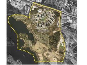 Södertälje kommun ska ta fram en strukturplan för Hovsjö som talar om på ett övergripande sätt hur stadsdelen ska växa i framtiden.Bild: Södertälje kommun