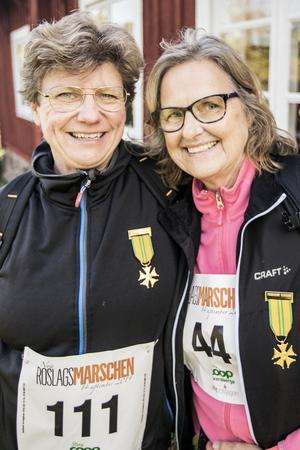 Maria Blomqvist och Inga Roos har tidigare  gått fyradagarsmarschen Nijmegen i Holland.