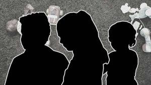 Fem barn  utsattes för grova våldtäkter och sexövergrepp av männen, i drygt åtta års tid.