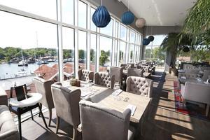 Den största matsalen rymmer cirka 300 gäster.