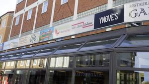 Merparten av butikslokalerna finns i den del av kvarteret Heimdal som kan få en ny ägare.