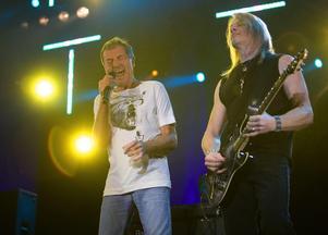 Hårdrockslegendarerna i Deep Purple gör sin första spelning i Dalhalla i juli.Foto: Daniel Eriksson