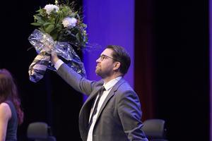 SD:s partiledare Jimmie Åkesson. Foto: TT