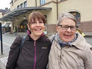 Gill Catterall och Kerstin Åström träffades tillslut, det tog bara 47 år. Bild: Privat