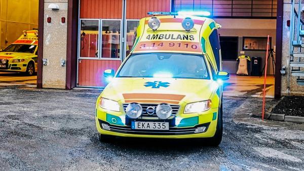 Ambulansen på bilden har ingen anknytning till situationen i artikeln.Foto: Helena Modigh