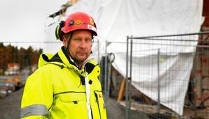 Tomas Kullberg ordförande för fackförbundet Byggnads region Stockholm- Gotland.