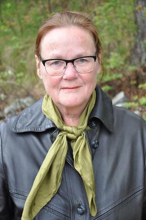 Lena Ihlar, Vänsterpartiets Dalakandidat till EU-valet.