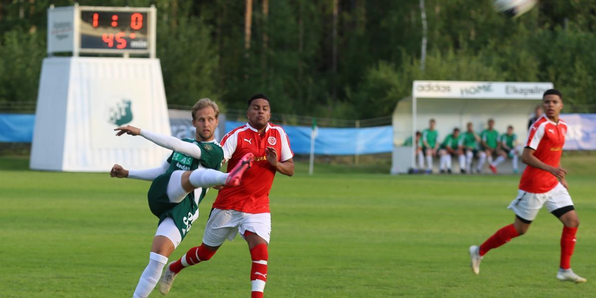"""Östavall och Svartvik delade på poängen: """"Vi vill vinna varje match"""""""