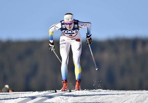 Sofia Henriksson var bästa svenska i den klassiska distansen på U23-VM i Rasnov, Rumänien.