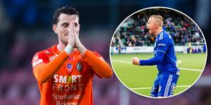 AFC Eskilstuna och GIF Sundsvall får vänta in i sista omgången på att få sitt öde bestämt. Foto: Kenta Jönsson/Pär Olert (Bildbyrån).