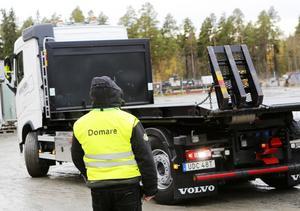 Under tisdagen arrangerade Transportfackens Yrkes- och Arbetsmiljönämnd kvaltävlingar till Yrkes-SM på Fyrvalla i Östersund. Finalen kommer att gå i Helsingborg i slutet av april nästa år.