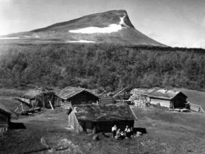 Fäbodar i Härjedalen 1963.