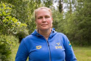 I dag jobbar Malin Sjöström främst med simmare.