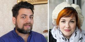 Sergio och Linnéa Manzanares är kända profiler i Gävle. Han är S-politiker och hon är prisad för sitt kulturengagemang. Foto: Bilden är ett montage/arkiv