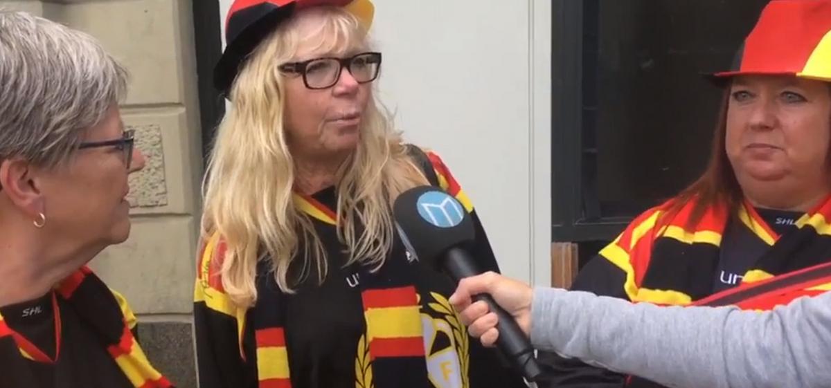 TV: Se Brynäsfansen ladda upp på Avenyn i Göteborg