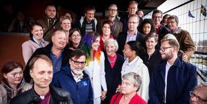 1 maj 2018. Alla samlade, kulturministern, biskopen, ABB-chefer, hembygdsfolk med flera.