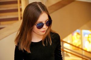 Attityd var bara förnamnet, då Hanna Ahlberg visade solglasögon.