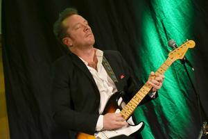 Johan Lindström växlade mellan strata, steel guitar, lap steel och halvakustisk gitarr.