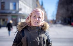 Frida Nilvander, 35 år, jobbar på kontor, Söråker:
