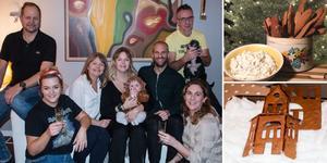 Familjerna Fröjd och Olsson/Hamberg har julbakat tillsammans i 30 år.