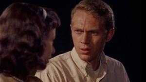Steve McQueen gjorde sin debut som huvudrollsinnehavare i