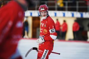 LAIK:s lagkapten Joakim Persson.
