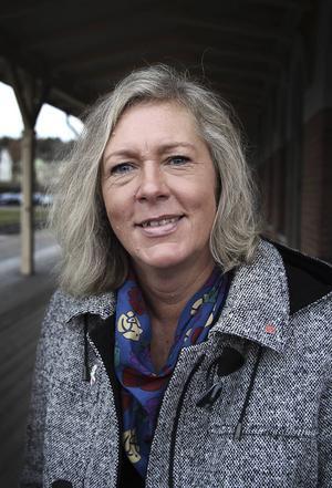 Eva Lindberg, regionråd, Socialdemokraterna.