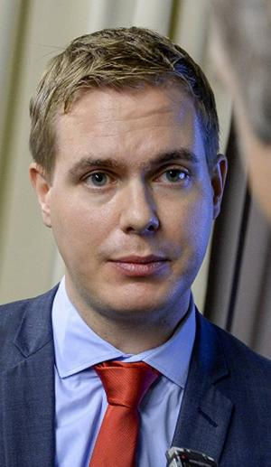Skolminister Fridolin.