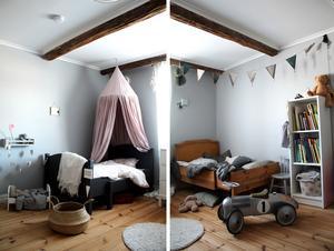 Elsas och Liams rum.