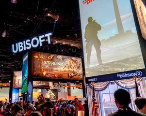 Världens största spelmässa E3 ägde rum i Los Angeles förra veckan, där spelkommentatorn Tobias André deltog för att marknadsföra spel från företaget Ubisoft.FOTO: Sergey Galyonkin