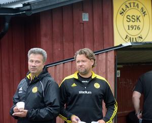 Ola Tollstens och Nicklas Rydstrands Slätta åker ur division 3.