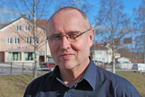 Krister Ejeros, räddningsledare vid brandkåren i Leksand. Foto: Arkiv/Annki Hällberg.