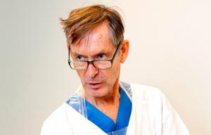 Tomas Vikerfors, medicinsk stabschef på Västmanlands sjukhus Västerås.