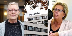 Specialistvården och den regiondrivna primärvården får kraftig kritik för en budget full med stora svarta hål. Oppositionspolitikern Pia Lundin (SJVP) är överens med HSN:s ordförande Lena Asplund (M).