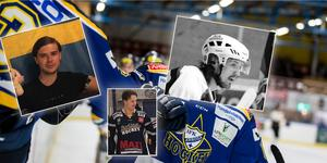 IFK Arboga Hockey värvar tre namn till säsongen 19/20. Klart är att Anton Wickman återvänder hem, forwarden Joakim Häggroth ansluter och backen Fredrik Sandberg är klara för spel i klubben. Foto: Oliver Åbonde & Arboga Hockey