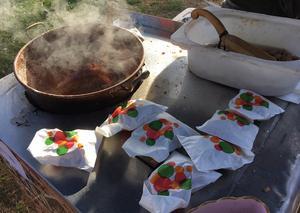 Även brända mandlar räknas in i marknadens omsättning.